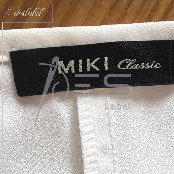 Nhãn dệt 2 da Miki Q.3
